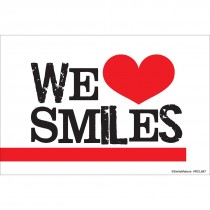 We Love Smiles Recall Cards
