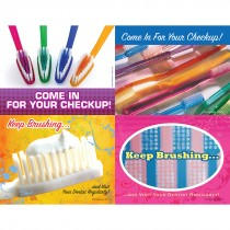Toothbrushes Laser Cards