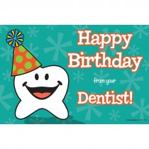 Happy Tooth Birthday Recall Cards