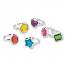 Fancy Gem Stone Rings