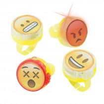 Emoji Light-Up Rings