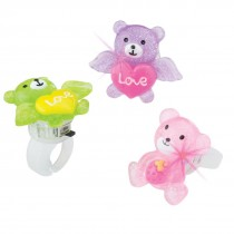 Flashing Bear Rings