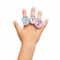 Minnie Mouse Jewel Rings