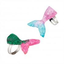 Mermaid Glitter Rings