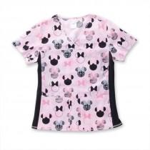Minnie Mouse® Je T'aime Scrub Top