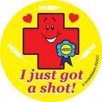 I Got A Shot Stickers