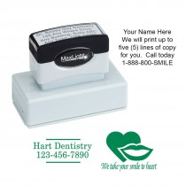 Large Custom Address Stamp