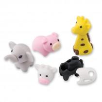 3-D Animal Erasers