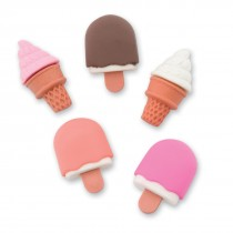 Ice Cream Erasers