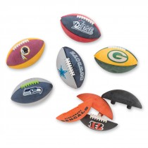 NFL Buildable Football Erasers