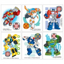 Transformers Rescue Bots Temporary Tattoos