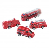 Fire Rescue Pullback Trucks