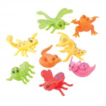 Neon Crazy Crawler Figurines