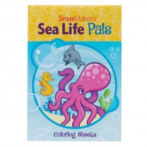 Sea Life Pals Colouring Books