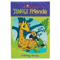 Jungle Friends Colouring Books