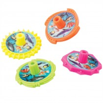Sea Life Spin Tops
