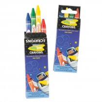 Silly Space Crayons