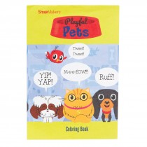 Playful Pets Coloring Books