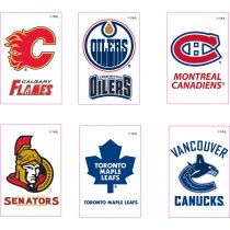 NHL Canadian Temporary Tattoos