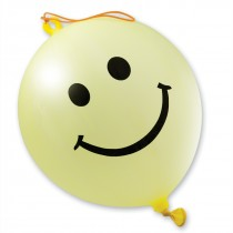 Smiley Face Punching Balloons