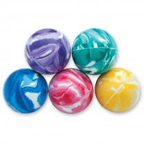 31mm Colourful Swirl Bouncing Balls