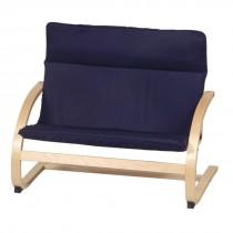 Kiddie Rocker Couch (Blue)