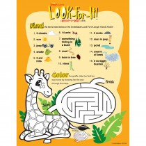 Jungle Friends Look-For-It Activity Sheets