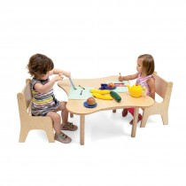 Toddler Flower Table and Chair Set