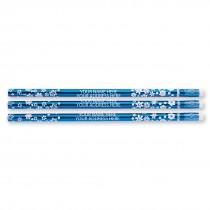 Custom Snowflake Pencils