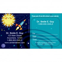 Custom Silly Space Appointment Cards