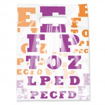 Scatter Eye Chart Bags
