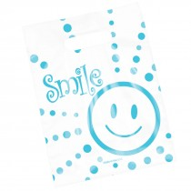 Clear Smiley Guy Bags