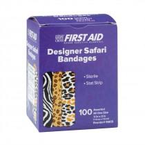 First Aid Safari Print Bandages