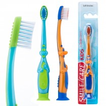 SmileCare Toddler 3-D Dino Toothbrushes