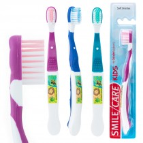 SmileCare Youth Jungle Friends Toothbrushes