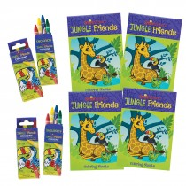 SmileMakers Jungle Friends Colouring Value Pack