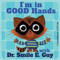 Custom Raccoon in Good Hands Stickers