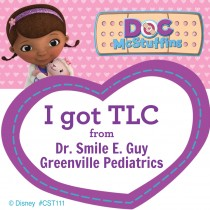 Custom Doc McStuffins Stickers