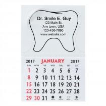 Custom Tooth Shaped Calendars