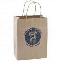 Custom Brown Paper Bags - Medium