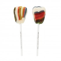 Dr. John's®  Xylitol Berry Swirl Tooth Shaped Lollipops
