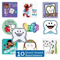 Dental Sticker Sampler