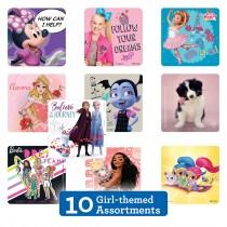 Girl Sticker Sampler