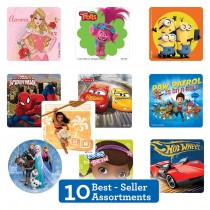Best Sellers Licenced Sticker Sampler