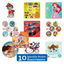 Specialty Sticker Sampler