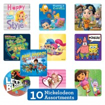 Nickelodeon Sticker Sampler