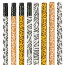 Fuzzy Animal Pencils