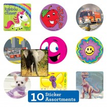 10 Unit Sticker Sampler