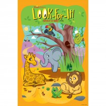Jungle Friends Look-For-It Poster