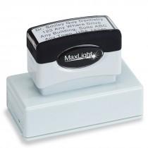 1 Line Custom Slim Stamp